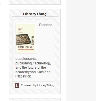 LibraryThing - funktioniert